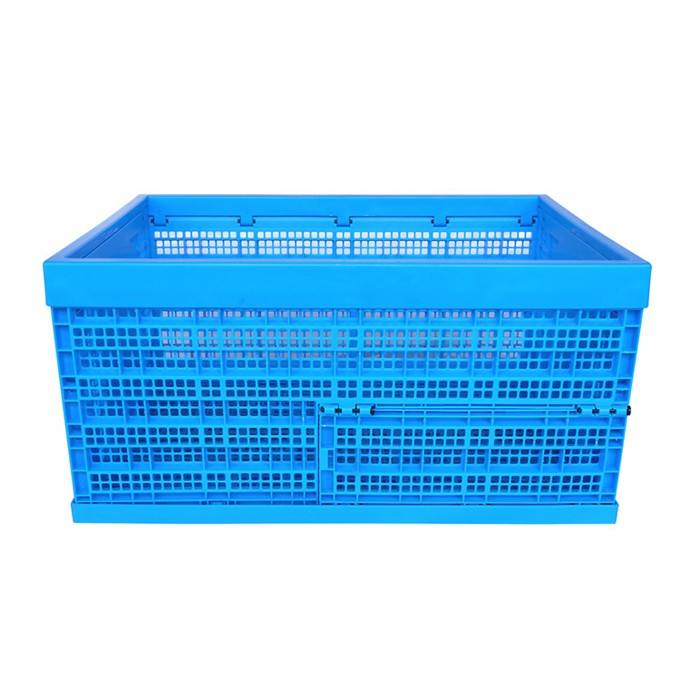 Recyclable Mesh Plastic Folding Crate Storage Transporting Crates
