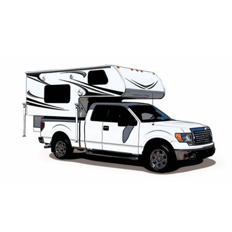Overland Superior Quality Hard Floor RV Camper Trailers for Sale