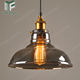 Industrial hanging lighting glass pendant light vintage pending lamp