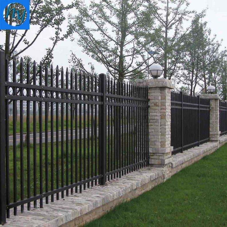 Iron Bar Fence Iron Fence For Decorative Flower Garden Fencing