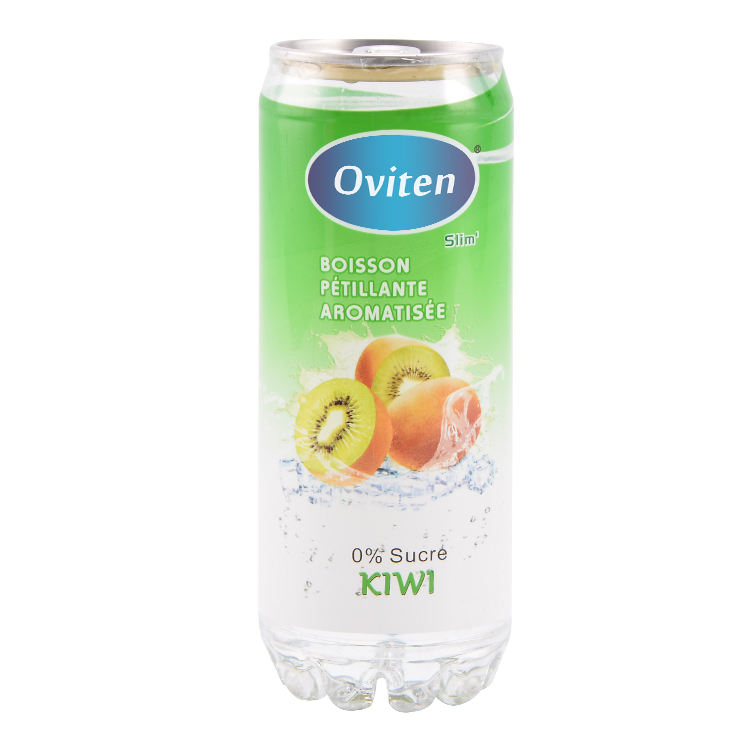 310ml Kiwi fruit flavoured carbonated drink, delicious sparkling water