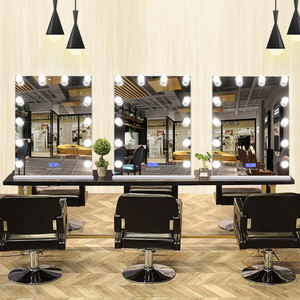 Hair Styling Barber Station Beauty Equipment Barbershop Mirrors
