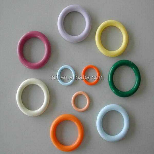 Favorite colored plastic o ring