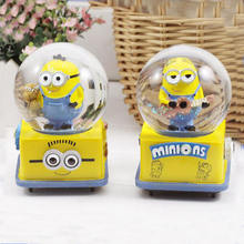 100MM Handmade Cartoon Minions Snow Globe for Kids