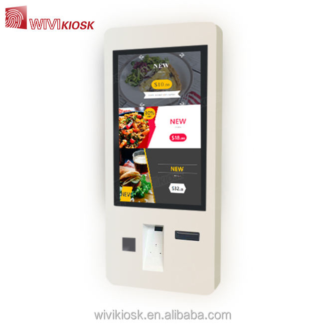 Electronic restaurant self service ordering machine