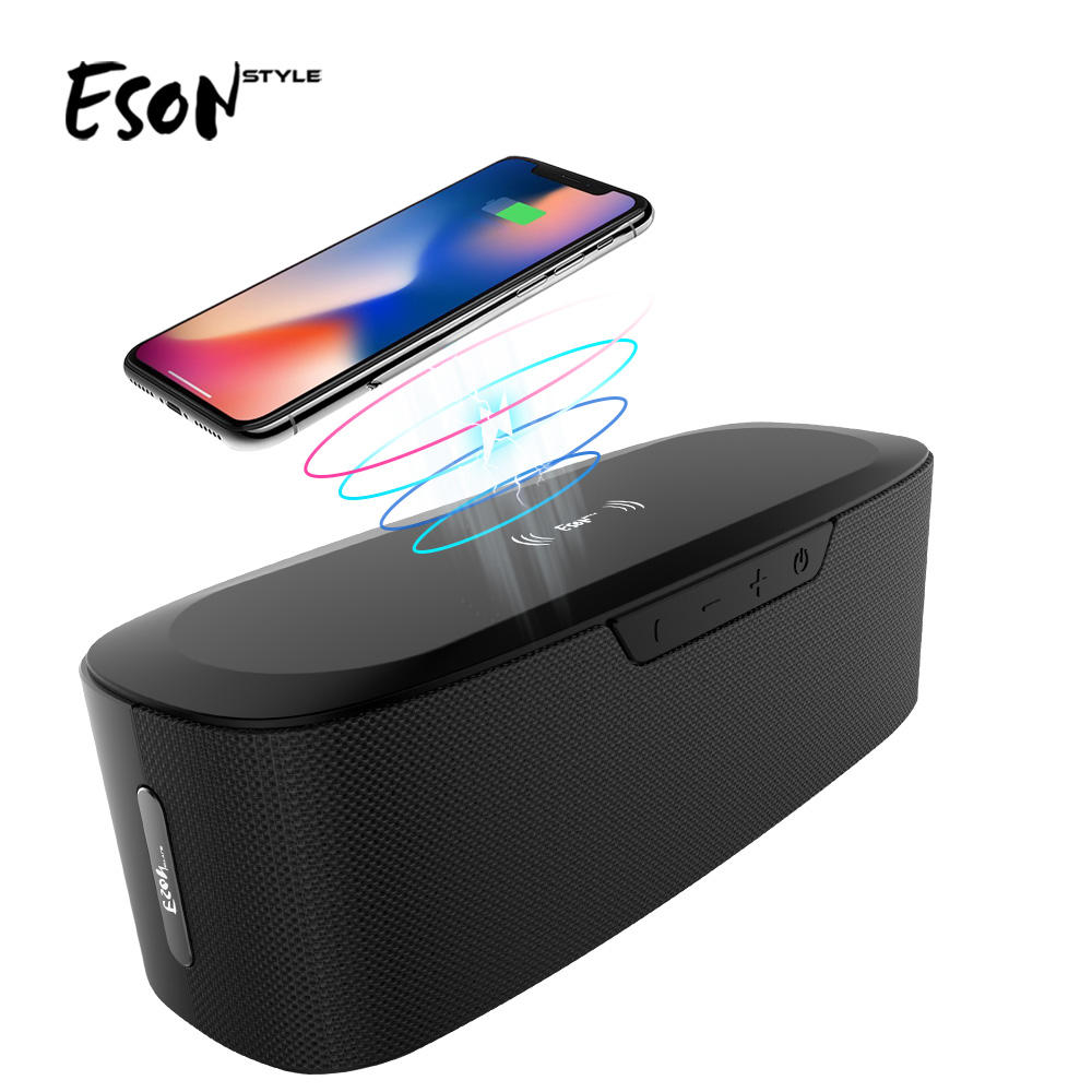 Eson Precision Ind Co Ltd Gaya Sistem Home Theater Bluetooth Subwoofer 20 W 3.7 V 5200 MAh Charger Nirkabel Bluetooth Speaker