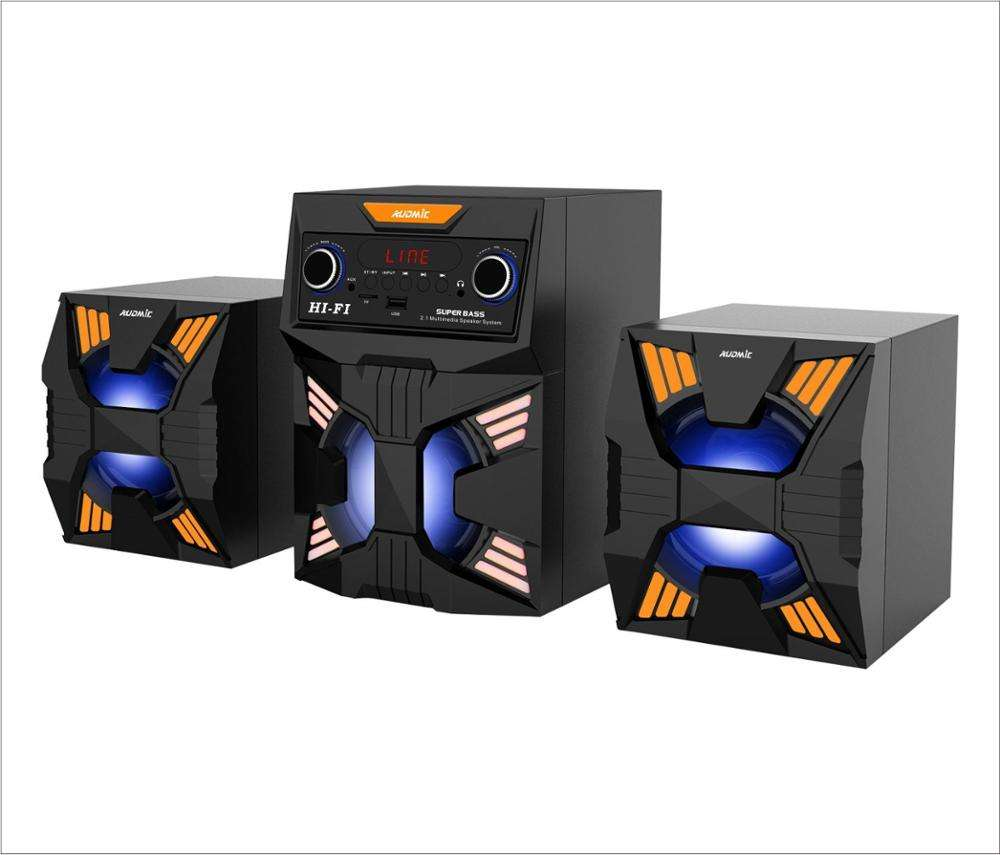 4 inch Hi-Fi Multimedia 2.1 Desktop Computer Speakers