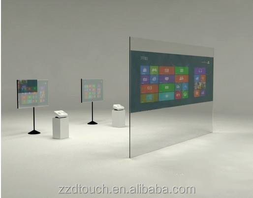 "32"" high sensitivity nano touch foil film 15""-100"" interactive multi touch screen overlay on glass"