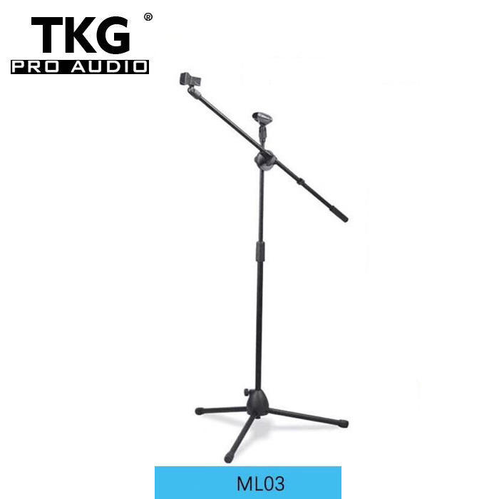 TKG ML03 microphone stand parts floor mic stand flexible stage microphone stand