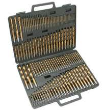 HSS Twist Drill Set 170 pcs Nitrided titanium Metal drill Set