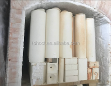 Fire proof furnace Ivory corundum tube bush