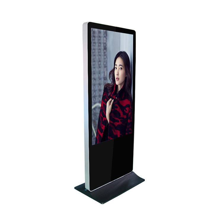 HD lcd screen movable poster display professional audio video advertising factory wholesale