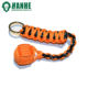 Handmade keychain 550 paracord monkey fist with stainless steel bead