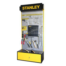 Customized new design Pegboard hardware product display racks for shops