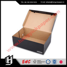 Wholesale cardboard boxes for shoe packaging with custom logo