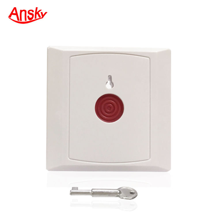 Panic Button Emergency button key reset or Auto Reset Emergency Button