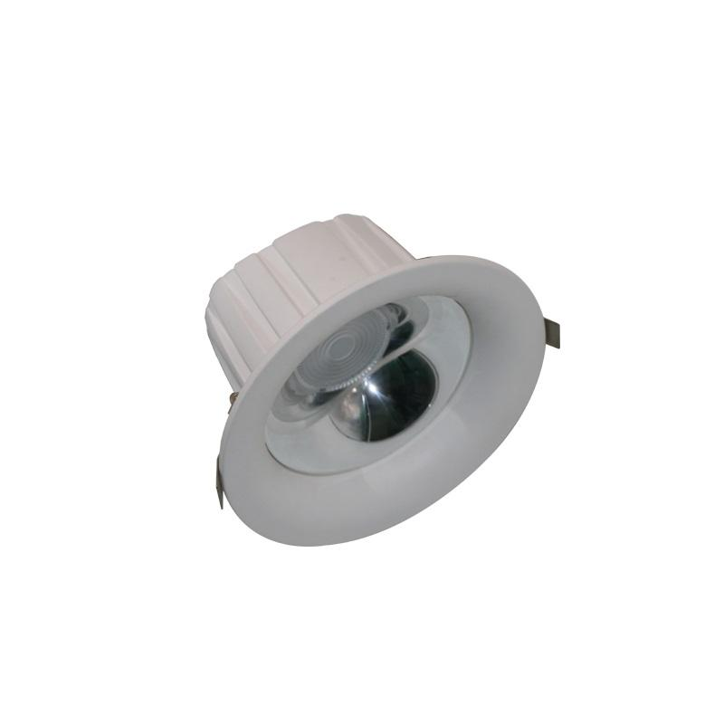 Hoge kwaliteit power <span class=keywords><strong>dimbare</strong></span> verzonken aluminium cob anti glare 10 w 15 w 20 w 30 w 40 w smart led licht downlight armatuur