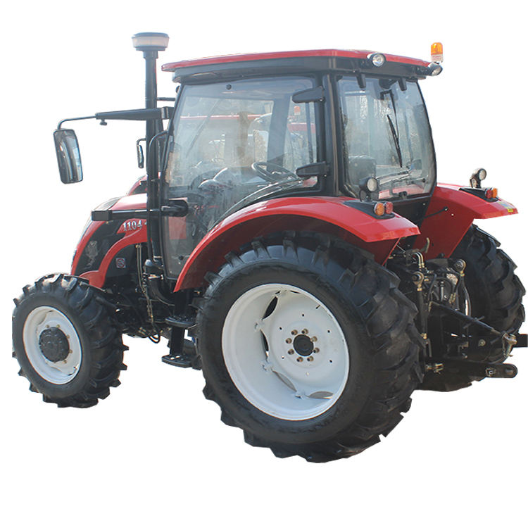 Gear drive 110hp 4wd farm large power tractor CE approved
