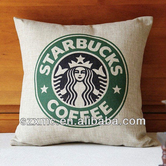 100 percent Natural Linen, eco Friendly and recyclable Burlap Pillow Cover Cushion Cover