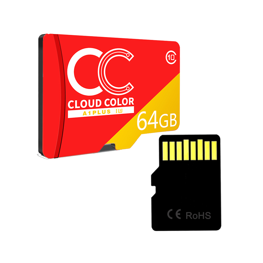 Full Quality logo Custom 64GB SD Cards Micro Memory Card 642GB TF Card Memory From Factory Supplier