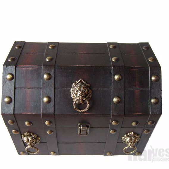 wholesale vintage Pirate Treasure Chest Box