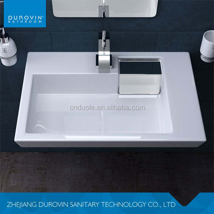 Australia superior quality india gloss ceramic white wash basin