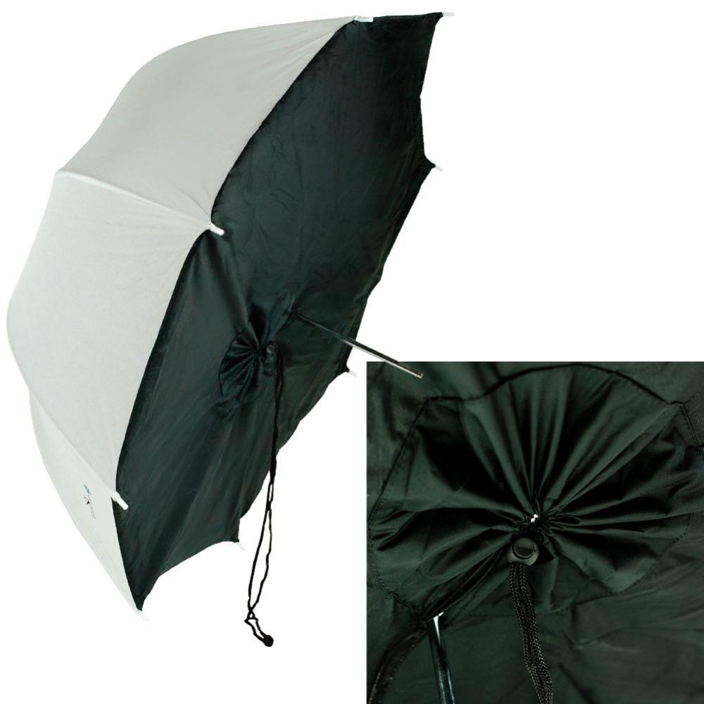Studio Trắng/<span class=keywords><strong>Đen</strong></span> Umbrella Softbox Brolly <span class=keywords><strong>Hộp</strong></span> Strobe Flash Light
