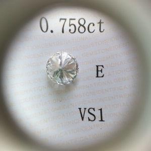 0.02CT 1.7MM VS1-VS2 Natural Round Excellent Cut Loose Diamond Color F-G