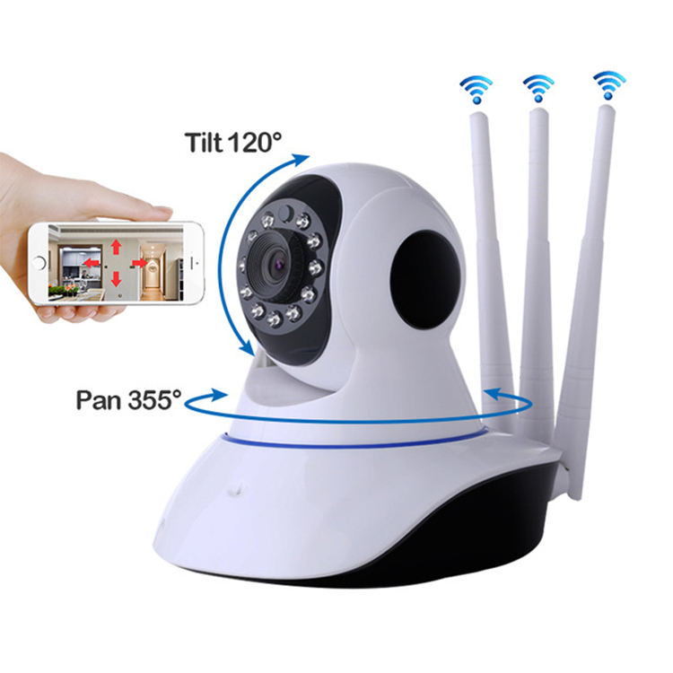 Strong Signal Home Security IP Camera 1080p HD Pet Nanny Monitor Wireless Wifi Smart Indoor Camera with Night Vision
