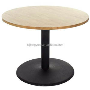 Classic Round Restaurant Food Court Dining Table