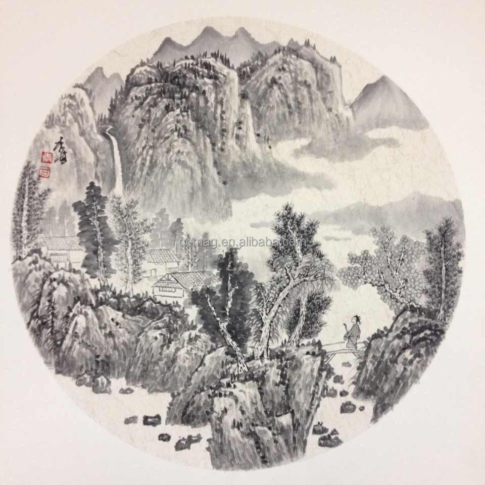 Pure hand-painted high quality ink painting Modern Art of Chinese ink painting