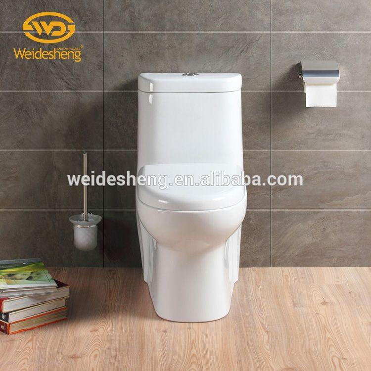 Bon prix européen siphonic rincer une pièce wc porta toilette en céramique