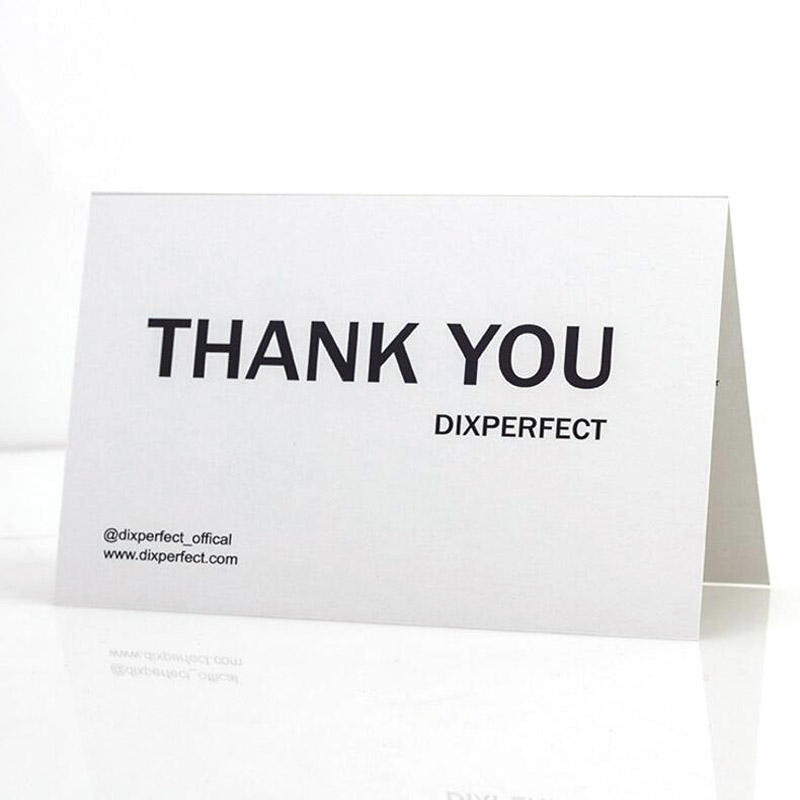 Custom Bulk Business Thank you Cards 공장