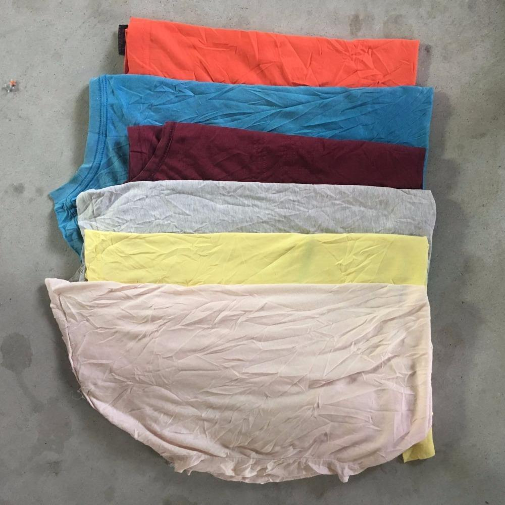 Cut T-Shirt Cotton Wiping Rags For Industrial Rags