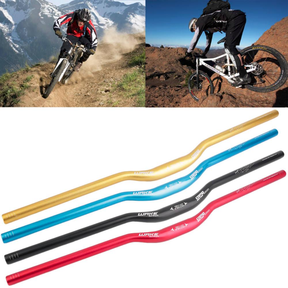 New31.8mm Flat Riser Bar for Road Mountain Bike Bicycle Alloy Handlebar Flat Bar