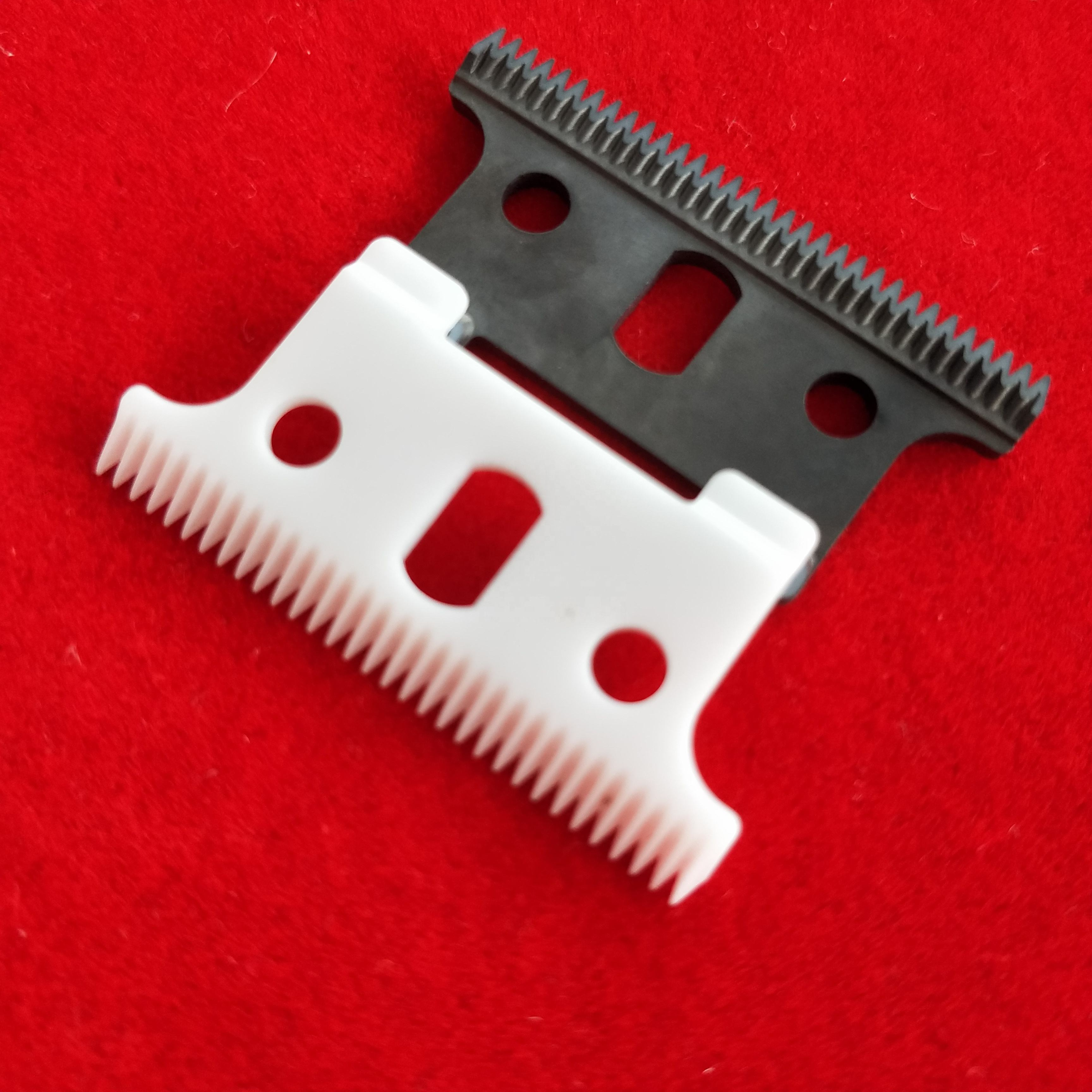 Replaceable blade Zirconia ceramic blade for Andis t outliner