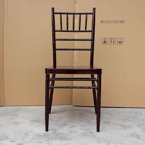 Ferro metal crystal clear acrílico resina plástica casamento chiavari cadeira tiffany