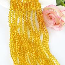 Wholesale Small Size 1mm 2mm 3mm Lampwork Glass Beads Faceted Rondelle Crystal Beads  For Jewelry Making