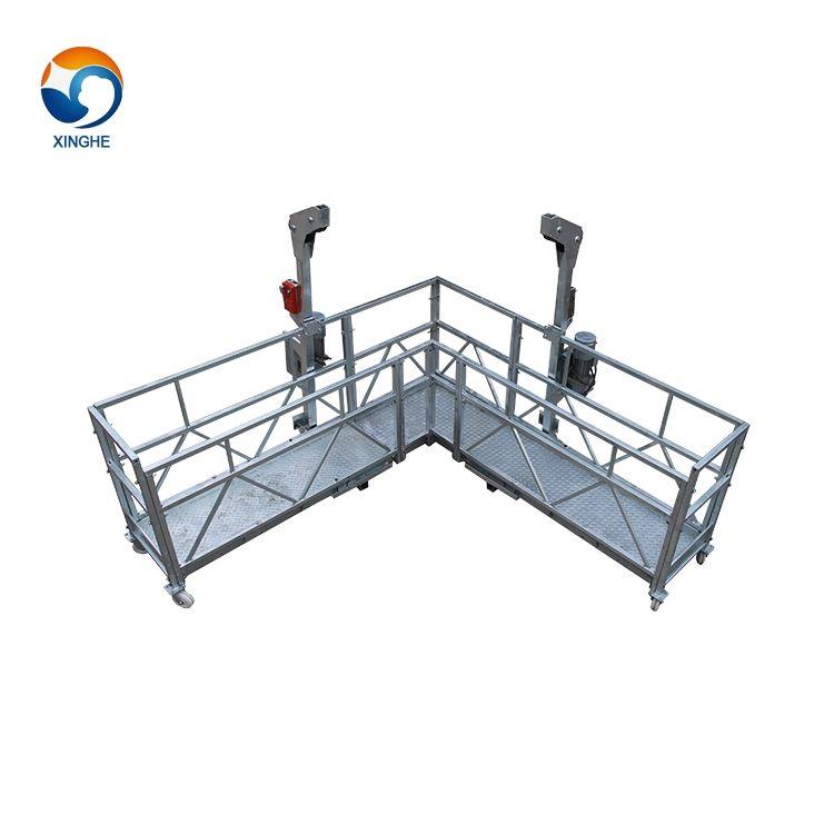 Di alta-aumento di sollevamento della piattaforma in alluminio regolabile costruzione di <span class=keywords><strong>pittura</strong></span> culla