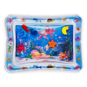 2019 Eco-friendly Pvc Baby Play Leakproof Inflatable Water Mat