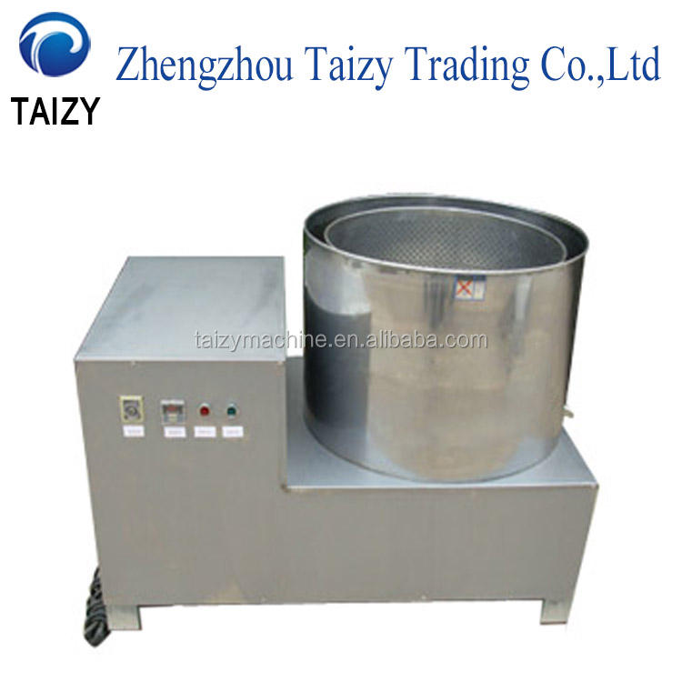 Industrial Snacks Centrifugal Deoiling Machine Fruit Dehydrator Potato Dewatering Machine
