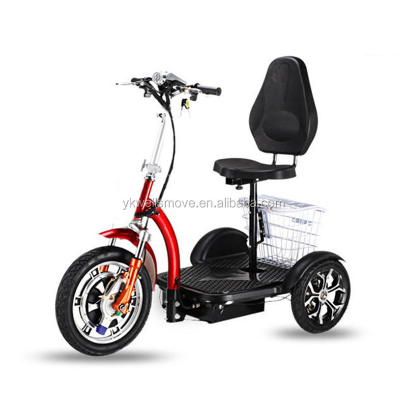 Good choice mobility three wheel electric trike scooter for disable 350w500w