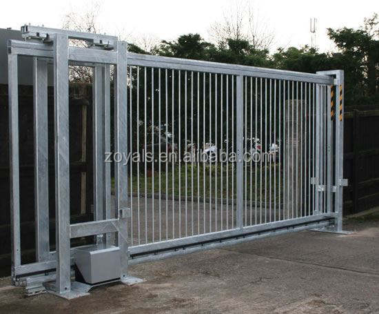 The most popular gate custom electrical operated sliding gate iron gate models