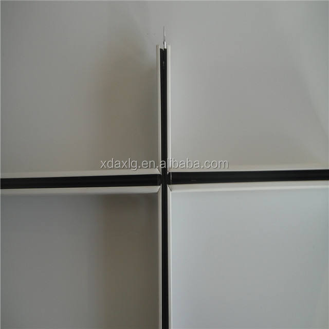 Plain/ flat Ceiling t grid / tee bars/t bar for ceiling with alloy parts