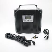 New designed DC 12V 180W portable double cylinder air compressor inflator pump