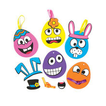 Custom Print Wacky Egg Stickers Car Window Sticker