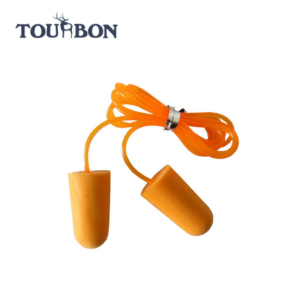 النوم tourbon اطلاق النار حماية الأذن سد الأذن رغوة pu لينة