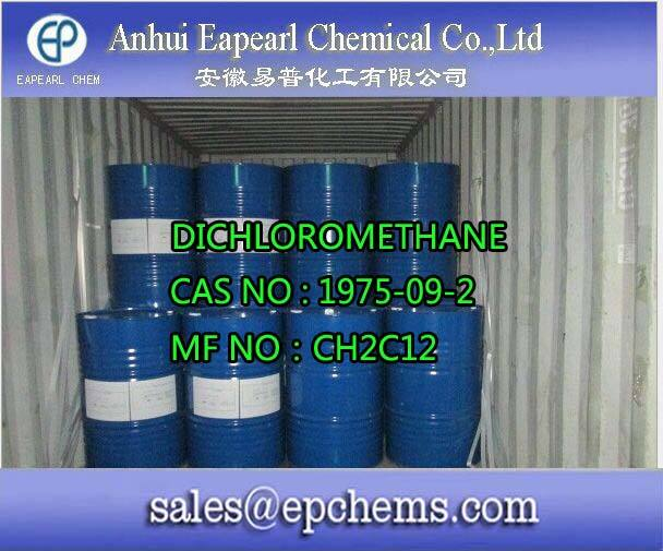 Dichloromethane ssd ssd solución química para negro
