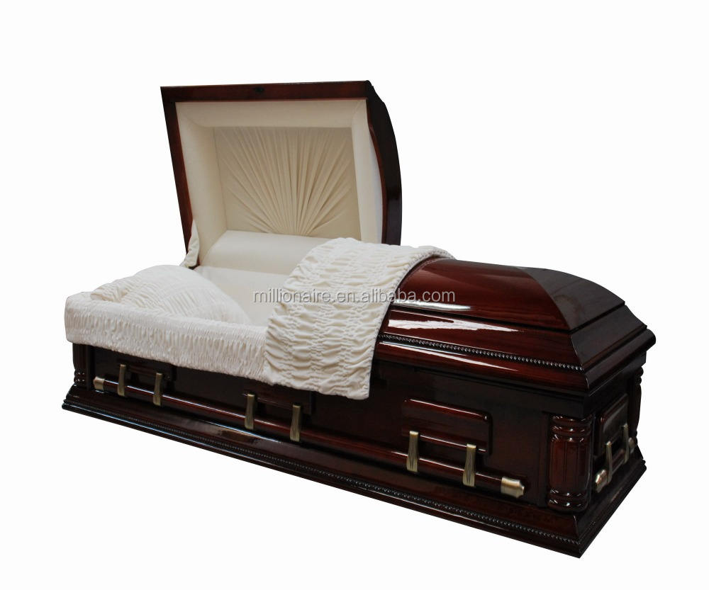 Makers in china wooden casket funeral cheap