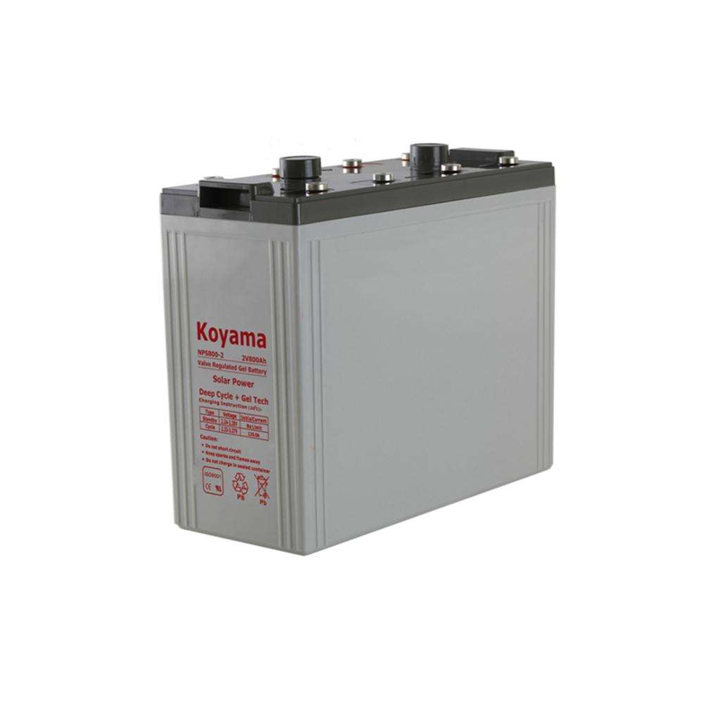 KOYAMA 2V 800AH Wind Power storage Solar Battery